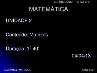MATEM�TICA