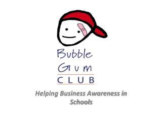 Helping Business Awareness in Schools