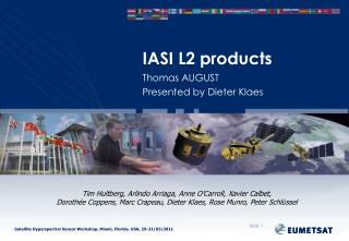 IASI L2 products