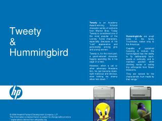 Tweety & Hummingbird