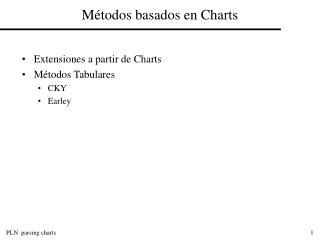 M�todos basados en Charts