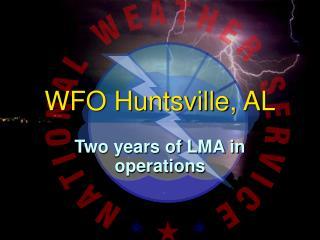 WFO Huntsville, AL