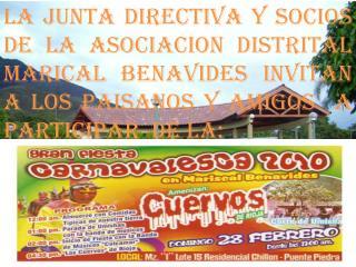 Lima, 12 de febrero de 2010 Oficio Circular  N° 00 -ADIMBE-2010 Señora: Presente.-