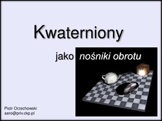 K waterniony