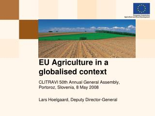 EU Agriculture in a globalised context