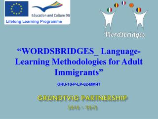 Grundtvig Partnership 2010 - 2012