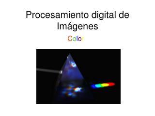 Procesamiento digital de Imágenes