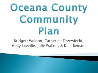 Oceana  County Community Plan