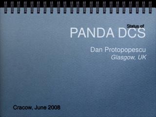 PANDA DCS