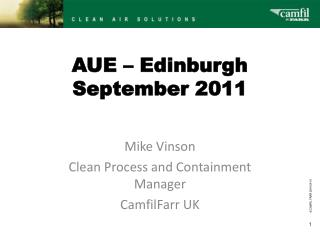AUE   Edinburgh September 2011