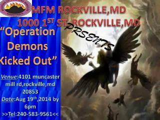 MFM ROCKVILLE,MD 1000 1 ST  ST, ROCKVILLE,MD