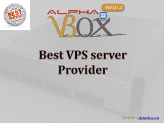 vps virtual private server hosting