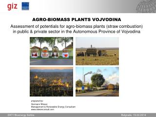 prepared by: Hermann  Wieser Management & Renewable Energy Consultant wieserconsult