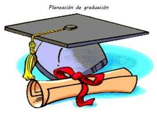 Planeación de graduación