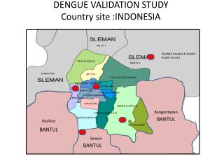 DENGUE VALIDATION STUDY Country site :INDONESIA
