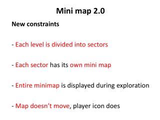 Mini  map  2.0