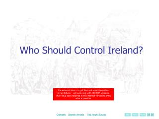 Who Should Control Ireland