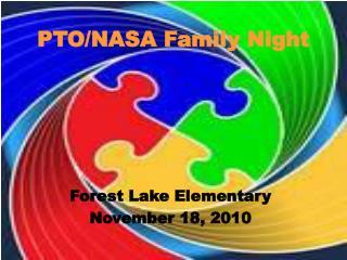 PTO/NASA Family Night