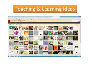 Teaching  & Learning Ideas