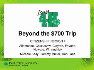 Beyond the $700 Trip