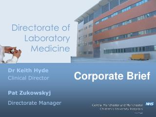 Directorate of Laboratory Medicine