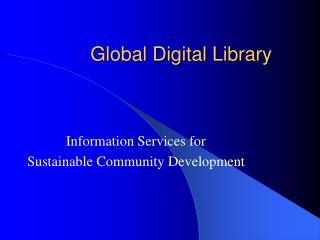Global Digital Library