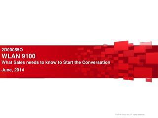 2D00055O WLAN 9100