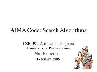 AIMA Code: Search Algorithms