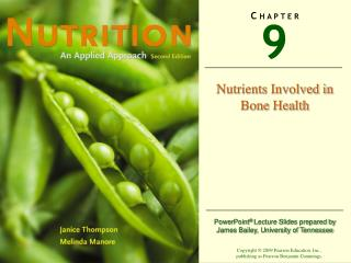 Nutrients Involved in Bone Health