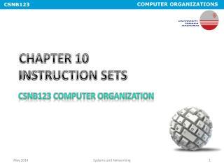 CHAPTER 10  INSTRUCTION SETS