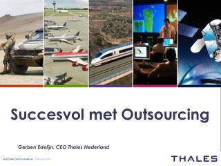 Succesvol met Outsourcing