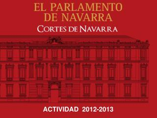 ACTIVIDAD  2012-2013