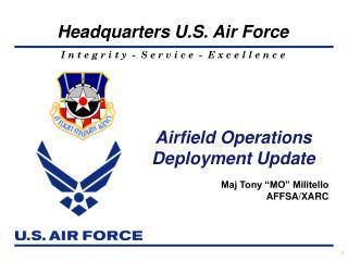"""Maj Tony """"MO"""" Militello AFFSA/XARC"""