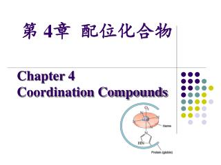 Chapter 4  Coordination Compounds