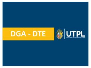 DGA - DTE