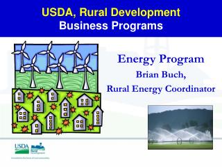 USDA, Rural Development Business Programs