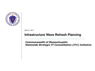 April 21, 2010 Infrastructure Wave Refresh Planning