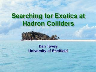 Searching for Exotics at Hadron Colliders