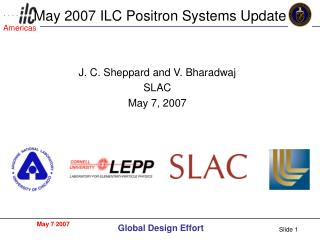 May 2007 ILC Positron Systems Update