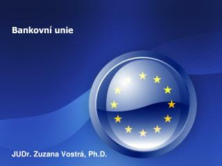 Bankovn� unie