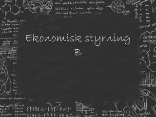 Ekonomisk styrning B