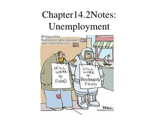 Chapter14.2Notes: Unemployment