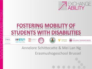 Fostering Mobility  of  Students with Disabilities