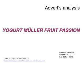 Advert's analysis
