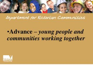 Advance – young people and communities working together