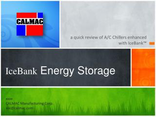 IceBank  Energy Storage