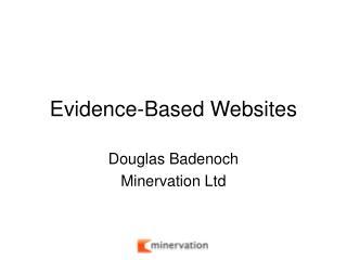 Evidence-Based Websites