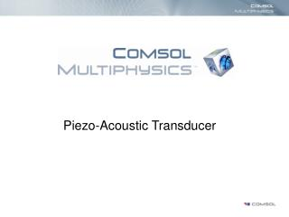 Piezo-Acoustic Transducer