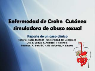 Reporte de un caso clínico