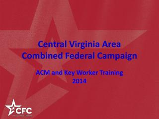 Central Virginia Area Combined Federal Campaign